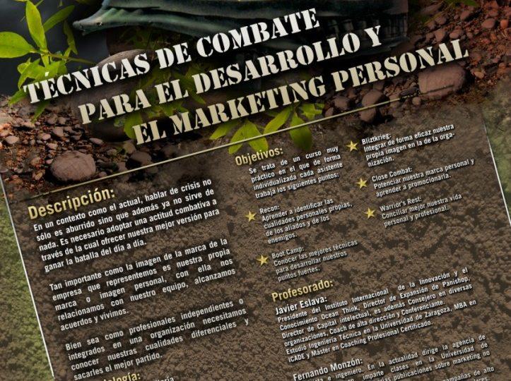 Curso técnicas de combate y marketing personal