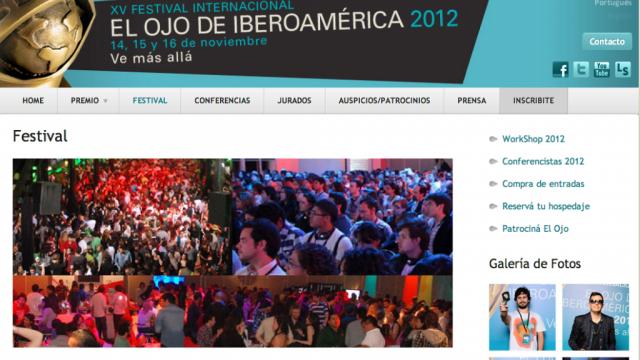 Jurado del XV Festival Internacional El Ojo de Iberoamérica 2012