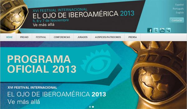 Jurado del XVI festival Internacional El Ojo de Iberoamérica 2013