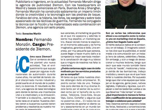 Fernando Monzón en Moneda Única