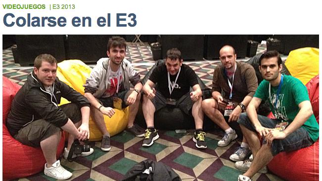 Colarse en el E3