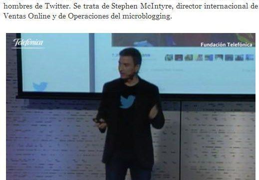 Fernando Monzón Trending Topic tras los TWEETSAWARDS 2012