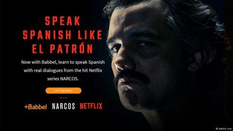 Aprender español con Narcos. Entrevista a Fernando Monzón